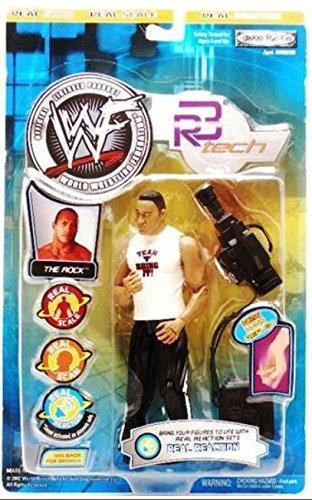 WWF R-3 Tech Series 2 The Rock Action Figure