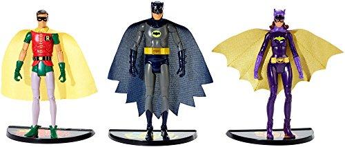 Batman Classic TV Series Batman Robin and Batgirl Figure 3-Pack