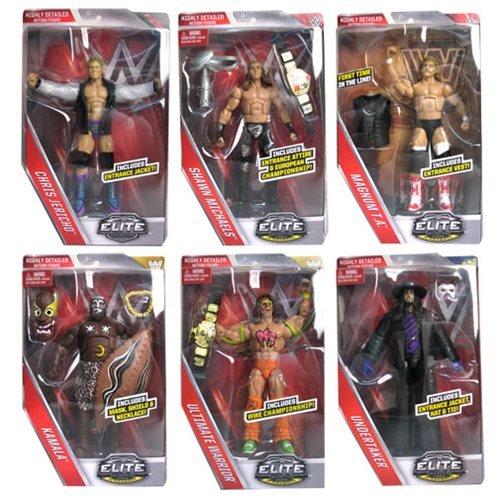 WWE Elite Legends Action Figure Case