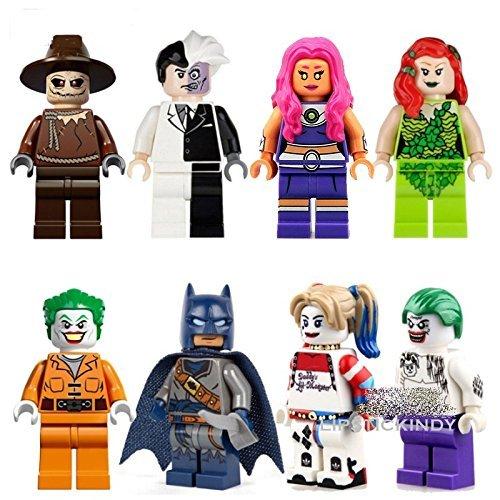 Generic 2016 Brand New Batman Superman Mini Superheros Action Figure 8 Piece