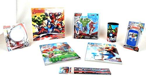 Iron Man Hulk Marvel Avengers 8 pc Super Heroes Action Figure Activity Gift Set Bundle