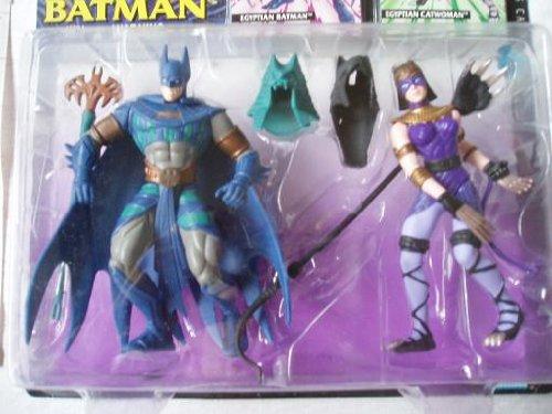 Legends of Batman Egyptian Batman Catwoman Action Figure Duo