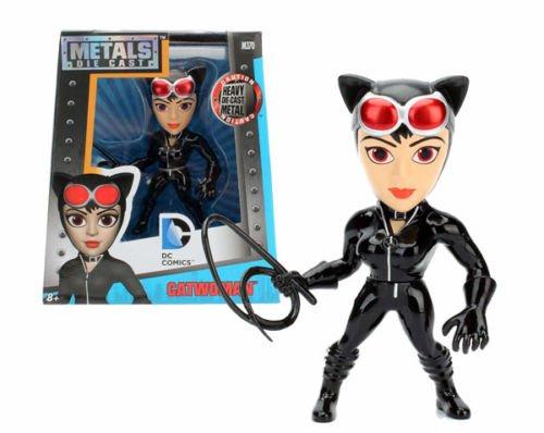 NEW JADA 4 METALS - DC COMICS - 4 Metal DieCast Die-Cast CATWOMAN Action Figures By Jada Toys