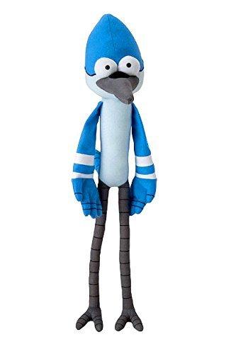Cartoon Network Regular Show Mordecai 18 Plush Toy Factory by Regular Show Toys Action Figures Plush
