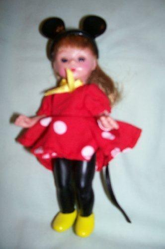 Madame Alexander -- Wendy Doll as Minnie Mouse Toy -- Poupee Wendy En Minnie Mouse Jouet -- La Muneca Wendy Como Minnie Mouse Juguete -- McDonalds Toy -- Factory Sealed by McDonalds
