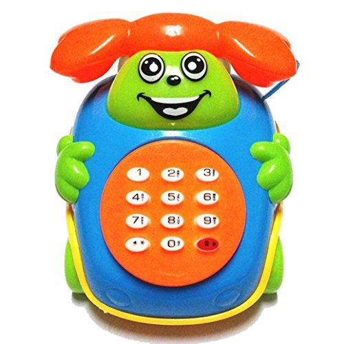 ☀ KESEE 2016 Baby Toys Music Cartoon Phone Educational Developmental Kids Toy Gift New