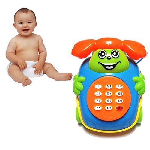 Leegor Baby Toys Simulation telephones Music Cartoon Phone Educational Developmental Kids Toy Gift New Educational Toy Christmas Gift