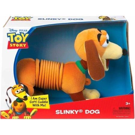 Disney Pixar Toy Story Plush Slinky Dog Classic Slinky Toy Mid-Section