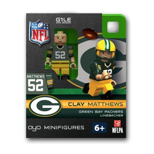 Clay Matthews Green Bay Packers OYO Figure