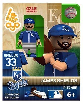 MLB Kansas City Royals James Shield OYO Figure by Oyo Sportstoys
