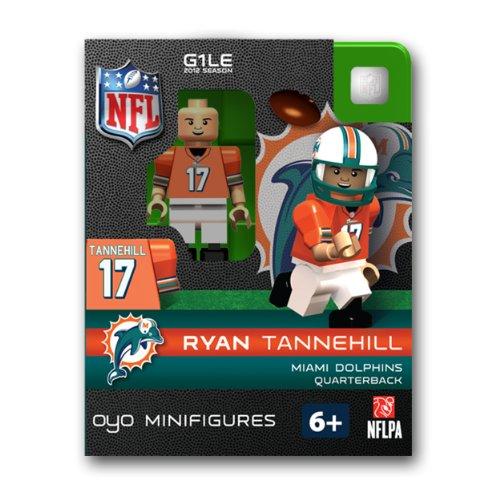 Ryan Tannehill NFL Oyo Mini Figure Lego Compatible Miami Dolphins