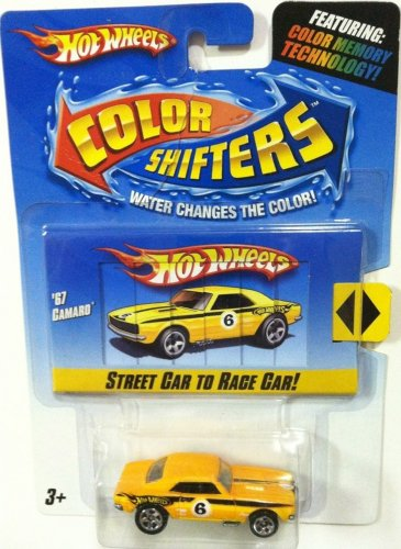 Hot Wheels Color Shifters Car - 67 Camaro