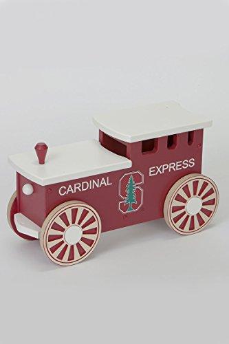 Kids Wooden Riding Toy Riding Train - Cardinal Express