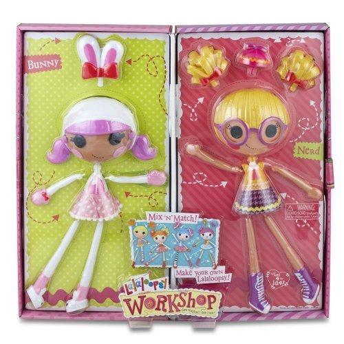 Play&Game Lalaloopsy Workshop Double Pack - BunnyNerd ToyGamePlay ChildKidChildren