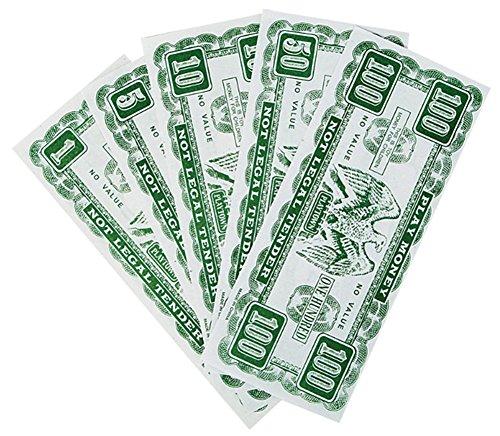 Set of 75 Toy Game Play Money Varying Denomination  Bills