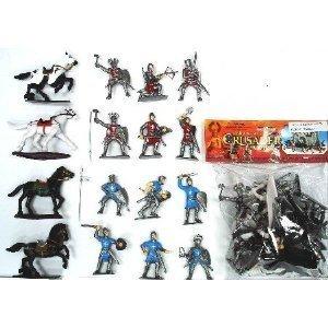 Crusaders Figure Playset Bagged 1-32 BMC