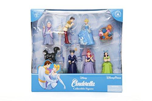 Disney Parks Exclusive Deluxe Cinderella 8 Pc Figure Playset