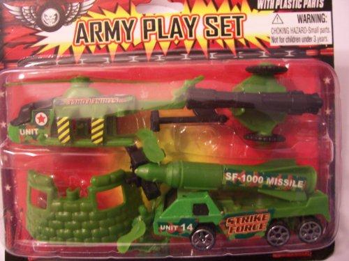 Strike Force Army Play Set ~ Air Assault Unit 14