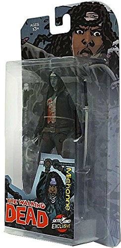 McFarlane Toys The Walking Dead Comic Book Michonne Exclusive Action Figure Bloody Black White