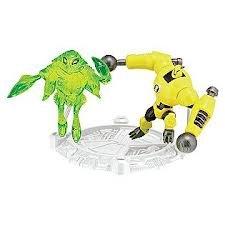 Ben 10 Ultimate Alien Mini Action Figure - ArmodrilloAmpFibian