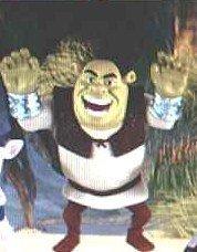 McDonalds Happy Meal Shrek Forever After Shrek Figure Toy 3 by McDonalds