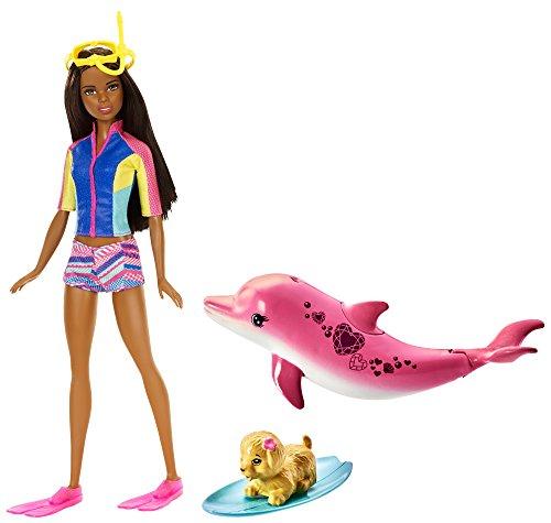 Barbie Dolphin Magic Snorkel Doll