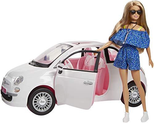 Barbie Doll Car Fiat Multi-Coloured Mattel Spain fvr07