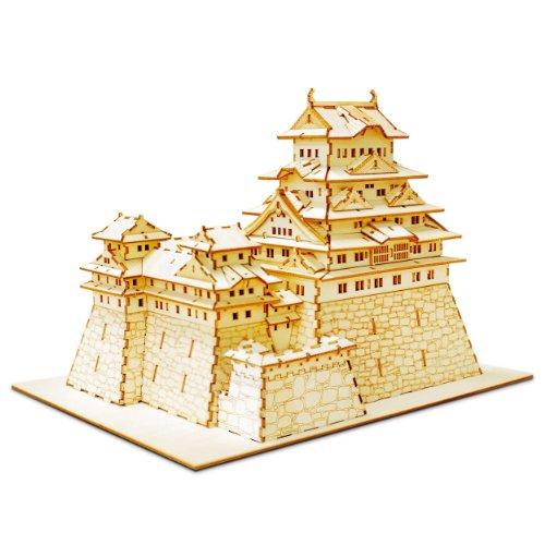 Azone International Wooden Art ki-gu-mi Himeji Castle