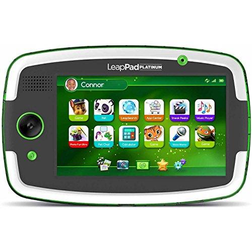 LeapFrog LeapPad Platinum Kids Learning Tablet Green