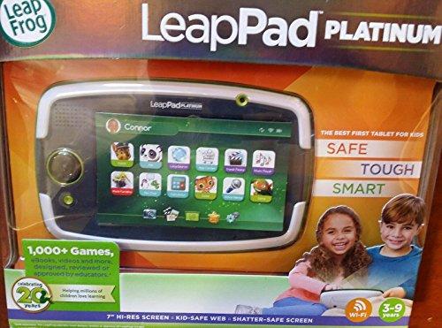LeapFrog LeapPad Platinum Kids Learning Tablet - Green Whit Box