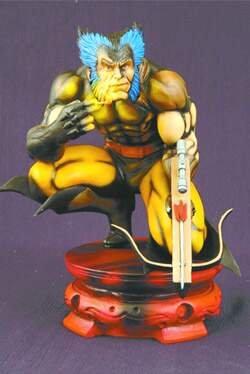 Marvel Milestones Frank Millers Wolverine Statue