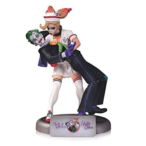 Warner Bros DC Comics Bombshells The Joker Harley Quinn Statue