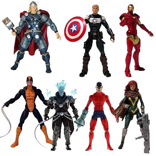Marvel Legends Action Figures 2012 Wave 1 Build A Figure Set TERRAX