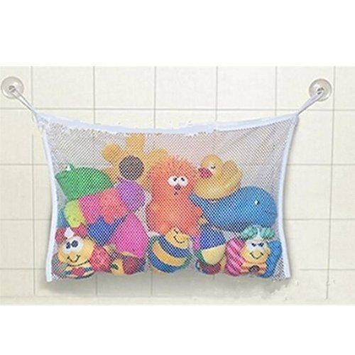 GUAngqi Baby Bath Time Toy Storage Suction Bag Mesh Net Bathroom Organiser by Gu Angqi
