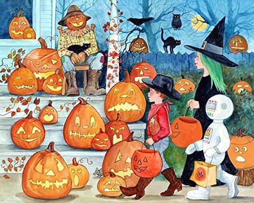Jack-o-Lanterns Halloween Jigsaw Puzzle 1000 Piece