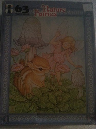 Nature Fairies Puzzle - Fairy with Chipmunk