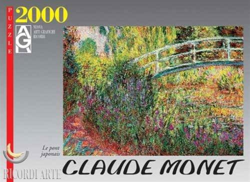 Monet Le Pont Japonais Jigsaw Puzzle 2000pc