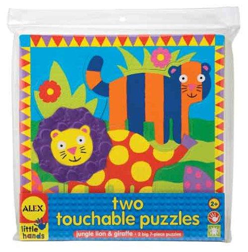 ALEX Toys Little Hands 2 Touchable Puzzles Jungle