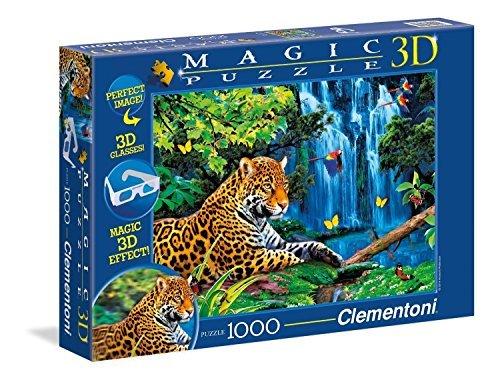 Clementoni Jaguar Jungle Puzzle 1000-Piece by Clementoni