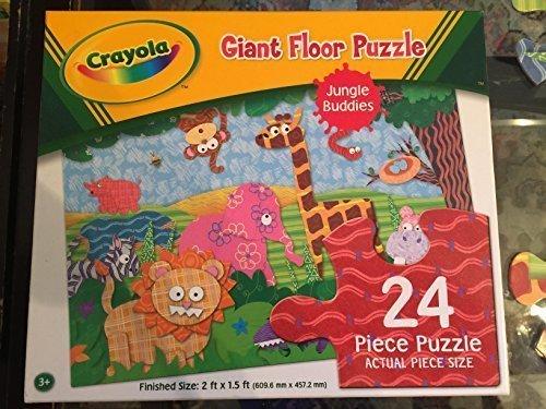 Crayola Giant Floor Puzzle Jungle Buddies 24 pieces
