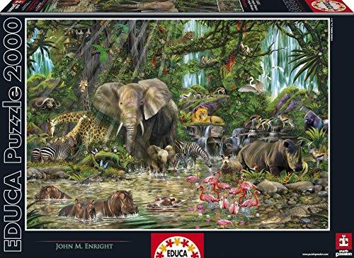 Educa African Jungle Puzzle 2000-Piece