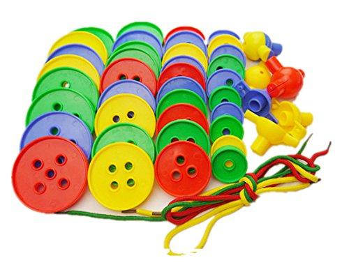 JingQ JQ1044 Plastic Stacked High Threading Blocks Construction Assembling Toy Educational Jigsaw Gift for Baby Children Kids