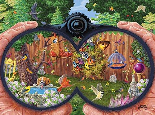 Bird Watching a 1000-Piece Jigsaw Puzzle by Sunsout Inc