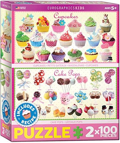 EuroGraphics Sweet Bundle Puzzle 2-Pack100-Piece