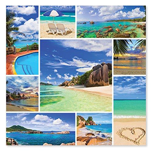 Melissa Doug 1000-Piece Photos From Paradise Tropical Beaches Jigsaw Puzzle 2 x 2 feet