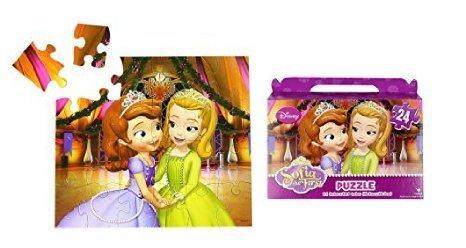 Disney Princess Sofia the First Floor Puzzle Gift Box 24-Piece 91 x 103 by GoodyPlus