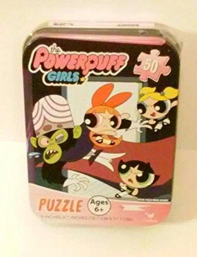 The Powerpuff Girls Jigsaw Puzzle Tin 50 pc