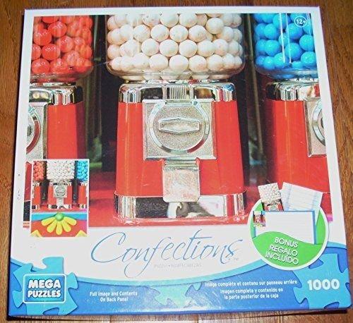 Mega Puzzles Confections Gumball Machine Puzzle 1000 Pieces