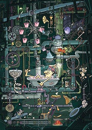 SCHMIDT Swarming Machine Puzzle 1500-Piece by Schmidt