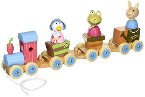 Beatrix Potter Peter Rabbit Puzzle Train by Beatrix Potter